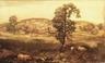 Landscape with Pigs (Autumn Landscape)