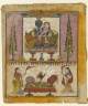 "Lakshmi Naryana, Frontispiece from the ""Tula Ram"" Bhagavata Purana"