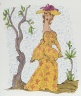 [Untitled] (Woman in Yellow Print Dress)