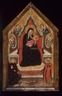 Virgin and Child Enthroned with Saints Benedict and Donato (?) and Four Angels