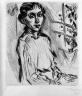 Portrait of Frau Ibach (Bildnis Frau Ibach)