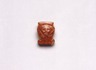 Amulet in Form of Hathor Head Inscribed for Hatshepsut & Senenmut