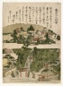 Panoramic View of Atagoyama, from an untitled series of Famous Places in Edo