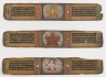 Three Illustrated Palm Leaves from a Pancharaksha Manuscript