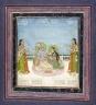 Krishna and Radha Seated on a Terrace