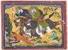Majaraha Ram Singh Hunting a Tiger