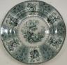 Plate, Eastern Plants Pattern