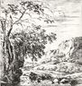 Set of Eight Landscapes, No. 8