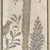 Roman. <em>Mosaic of Date Palm Tree</em>, 6th century C.E. Stone and mortar, With Frame: 1 3/8 x 34 5/8 x 74 3/16 in. (3.5 x 87.9 x 188.4 cm). Brooklyn Museum, Museum Collection Fund, 05.14. Creative Commons-BY (Photo: Brooklyn Museum, 05.14_detail_bottom.jpg)