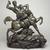 Antoine-Louis Barye (French, 1795-1875). <em>Theseus Slaying the Centaur</em>, model 1849. Bronze, 29 1/2 x 25 3/16 x 11 3/16 in. (74.9 x 64 x 28.4 cm). Brooklyn Museum, Gift of Fannie Avery Welcher, 05.242. Creative Commons-BY (Photo: Brooklyn Museum, 05.242.jpg)