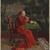 Léo Herrmann (French, 1853-1927). <em>Cardinal Taking Tea</em>, n.d. Gouache, watercolor, and graphite on wove paper, Image: 10 13/16 x 7 7/8 in. (27.5 x 20 cm). Brooklyn Museum, Bequest of Caroline H. Polhemus, 06.72 (Photo: , 06.72_PS9.jpg)