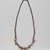 <em>Necklace</em>, ca. 3850-3500 B.C.E. Quartz, carnelian, agate, steatite, serpentine, Approximate length: 18 7/8 in. (48 cm). Brooklyn Museum, Charles Edwin Wilbour Fund, 09.889.313a. Creative Commons-BY (Photo: , 09.889.313a_PS9.jpg)