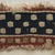 Coptic. <em>Band Fragment with Checkered Decoration</em>, 5th-6th century C.E. Flax, wool, 1 1/2 x 4 in. (3.8 x 10.2 cm). Brooklyn Museum, Gift of the Egypt Exploration Fund, 15.451b. Creative Commons-BY (Photo: Brooklyn Museum, 15.451b_PS11.jpg)