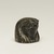 <em>Falcon Head</em>, 664-525 B.C.E., or earlier. Bronze, gold, 1 1/4 × 1 5/16 × 1 5/16 in. (3.1 × 3.3 × 3.4 cm). Brooklyn Museum, Gift of Evangeline Wilbour Blashfield, Theodora Wilbour, and Victor Wilbour honoring the wishes of their mother, Charlotte Beebe Wilbour, as a memorial to their father, Charles Edwin Wilbour, 16.107. Creative Commons-BY (Photo: Brooklyn Museum, 16.107_threequarter_right_PS11.jpg)