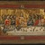 Pseudo-Jacopino di Francesco (Italian, Bolognese School, ca. 1325-1350/60). <em>The Last Supper (Ultima Cena)</em>, ca. 1325-1330. Tempera and tooled gold on poplar panel, 7 11/16 x 14 in. (19.5 x 35.5 cm). Brooklyn Museum, Gift of A. Augustus Healy, 16.443 (Photo: Brooklyn Museum, 16.443_SL1.jpg)