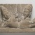 Cham. <em>Vishnu Reclining on Sesha</em>, 750-950. Grey sandstone, 9 3/8 x 17 3/8 in. (23.8 x 44.0 cm). Brooklyn Museum, Gift of Georgia and Michael de Havenon, 1991.239. Creative Commons-BY (Photo: Brooklyn Museum, 1991.239_PS11.jpg)