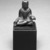 <em>Gautama Buddha</em>, 8th century. Bronze, overall (with mount): 2 1/2 x 2 x 1 3/8 in. (6.4 x 5.1 x 3.5 cm). Brooklyn Museum, Gift of Dr. Bertram H. Schaffner, 1993.106.1. Creative Commons-BY (Photo: Brooklyn Museum, 1993.106.1_bw.jpg)