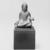 <em>Gautama Buddha</em>, 8th century. Bronze, overall (with mount): 2 1/2 x 2 x 1 3/8 in. (6.4 x 5.1 x 3.5 cm). Brooklyn Museum, Gift of Dr. Bertram H. Schaffner, 1993.106.1. Creative Commons-BY (Photo: Brooklyn Museum, 1993.106.1_bw_SL3.jpg)