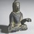 <em>Gautama Buddha</em>, 8th century. Bronze, overall (with mount): 2 1/2 x 2 x 1 3/8 in. (6.4 x 5.1 x 3.5 cm). Brooklyn Museum, Gift of Dr. Bertram H. Schaffner, 1993.106.1. Creative Commons-BY (Photo: Brooklyn Museum, 1993.106.1_threequarter_PS4.jpg)