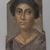 <em>Woman with Earrings</em>, 100-105 C.E. Encaustic on wood, 15 1/4 x 9 1/8 x 1/16 in. (38.8 x 23.2 x 0.2 cm). Brooklyn Museum, Bequest of Mrs. Carl L. Selden, 1996.146.9 (Photo: , 1996.146.9_PS9.jpg)