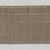Yorùbá. <em>Woman's shawl (aṣọ-òkè)</em>, 1973. Cotton, metallic thread, 23 1/2 x 91 in. (59.7 x 231.1 cm). Brooklyn Museum, Gift of William C. Siegmann, 1997.172.3. Creative Commons-BY (Photo: , 1997.172.3_PS9.jpg)
