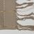 Yorùbá. <em>Woman's shawl (aṣọ-òkè)</em>, 1973. Cotton, metallic thread, 23 1/2 x 91 in. (59.7 x 231.1 cm). Brooklyn Museum, Gift of William C. Siegmann, 1997.172.3. Creative Commons-BY (Photo: , 1997.172.3_detail01_PS9.jpg)