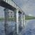 Gustave Caillebotte (French, 1848-1894). <em>The Seine and the Railroad Bridge at Argenteuil (La Seine et le pont du chemin de fer d'Argenteuil)</em>, 1885 or 1887. Oil on canvas, 45 1/2 x 61 in. (115.6 x 154.9 cm). Brooklyn Museum, Gift of The Arthur M. Sackler Foundation, 1999.76.1 (Photo: Brooklyn Museum, 1999.76.1_large_SL1.jpg)