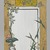 Christopher Grant La Farge (American, 1862-1938). <em>Menu Card Decorated with Bamboo and Flowers</em>, ca. 1880. Watercolor, black ink and metallic paint on very thin card stock, 5 x 3 1/2 in. (12.7 x 8.9 cm). Brooklyn Museum, Bequest of Christiana C. Burnett, 2001.47.9 (Photo: , 2001.47.9_PS9.jpg)