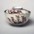 <em>Rice Bowl and Cover</em>, 19th century (possibly). Ko-Imari ware, porcelain with underglaze blue, overglaze enamel and gold, Bowl with lid (a-b): 3 3/8 × 4 3/4 in. (8.6 × 12.1 cm). Brooklyn Museum, The Peggy N. and Roger G. Gerry Collection, 2004.28.170a-b. Creative Commons-BY (Photo: Brooklyn Museum, 2004.28.170a.jpg)