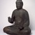 <em>Figure of Seated Buddha</em>, 794-1185. Wood, crystal, 34 1/2 x 29 1/2 x 21 1/2 in. (87.6 x 74.9 x 54.6 cm). Brooklyn Museum, The Peggy N. and Roger G. Gerry Collection, 2004.28.207. Creative Commons-BY (Photo: Brooklyn Museum, 2004.28.207_SL3.jpg)