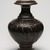 <em>Vase</em>, 12th-13th century. Stoneware with dark brown glaze, 10 1/4 x 7 in. (26 x 17.8 cm). Brooklyn Museum, The Peggy N. and Roger G. Gerry Collection, 2004.28.223. Creative Commons-BY (Photo: Brooklyn Museum, 2004.28.223_view01_PS11.jpg)