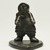Lucassie Nowra (1924-1993). <em>Standing Male on Base</em>, 1950-1993. Soapstone, ivory, 4 1/4 x 3 3/8 x 3 1/4 in. (10.8 x 8.6 x 8.3 cm). Brooklyn Museum, Hilda and Al Schein Collection, 2004.79.10. Creative Commons-BY (Photo: Brooklyn Museum, 2004.79.10_front_PS11.jpg)