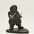 Lucassie Nowra (1924-1993). <em>Standing Male on Base</em>, 1950-1993. Soapstone, ivory, 4 1/4 x 3 3/8 x 3 1/4 in. (10.8 x 8.6 x 8.3 cm). Brooklyn Museum, Hilda and Al Schein Collection, 2004.79.10. Creative Commons-BY (Photo: Brooklyn Museum, 2004.79.10_threequarter_right_PS11-1.jpg)