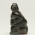 Elisapi Qumaluk (born 1927). <em>Kneeling Figure</em>, 1950-1980. Gray stone, 4 x 2 1/8 x 1 5/8 in. (10.2 x 5.4 x 4.1 cm). Brooklyn Museum, Hilda and Al Schein Collection, 2004.79.12. Creative Commons-BY (Photo: Brooklyn Museum, 2004.79.12_left_PS11.jpg)