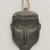 Therese Ukaleannuk (Inuit). <em>Amulet in the Form of a Head, March 1974</em>, 1950-1980. Gray stone, rawhide, 2 3/4 x 1 3/4 x 3/4 in. (7 x 4.4 x 1.9 cm). Brooklyn Museum, Hilda and Al Schein Collection, 2004.79.27. Creative Commons-BY (Photo: Brooklyn Museum, 2004.79.27_PS11.jpg)