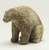Inuit. <em>Seated Polar Bear</em>, 1950-1980. Antler, 4 x 5 x 2 1/4 in. (10.2 x 12.7 x 5.7 cm). Brooklyn Museum, Hilda and Al Schein Collection, 2004.79.35. Creative Commons-BY (Photo: Brooklyn Museum, 2004.79.35_threequarter_right_PS11.jpg)