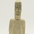 Cecilia N.. <em>Head and Torso of a Man</em>, 1950-1980. Bone, pigment, 5 x 2 1/8 x 1 3/8 in. (12.7 x 5.4 x 3.5 cm). Brooklyn Museum, Hilda and Al Schein Collection, 2004.79.38. Creative Commons-BY (Photo: Brooklyn Museum, 2004.79.38_front_PS11-1.jpg)