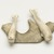 Inuit. <em>Two Whales on a Base</em>, 1950-1980. Bone, antler, pigment, 1 5/8 x 5 1/8 x 3 3/4 in. (4.1 x 13 x 9.5 cm). Brooklyn Museum, Hilda and Al Schein Collection, 2004.79.55. Creative Commons-BY (Photo: Brooklyn Museum, 2004.79.55_view02_PS11.jpg)