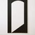 Leon Polk Smith (American, 1906-1996). <em>Correspondence Black-White</em>, 1967. Acrylic on canvas, 90 x 50 in. Brooklyn Museum, Bequest of Leon Polk Smith, 2011.12.7. © artist or artist's estate (Photo: , 2011.12.7_SL3.jpg)