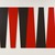 Leon Polk Smith (American, 1906-1996). <em>Arrangement in Black and Red</em>, 1980. Acrylic on canvas, 6 parts, overall: 120 x 180 in. Brooklyn Museum, Bequest of Leon Polk Smith, 2011.12.8a-f. © artist or artist's estate (Photo: , 2011.12.8a-f_SL3.jpg)