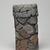 Harada Shuroku (Japanese, born 1941). <em>Vase</em>, ca. 2006. Bizen ware: unglazed stoneware, 11 x 6 5/16 in. (28 x 16 cm). Brooklyn Museum, Gift of Steven Korff and Marcia Van Wagner, 2014.60.5. Creative Commons-BY (Photo: , 2014.60.5_back_PS9.jpg)