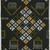 Vlisco B.V.. <em>Wax Print Textile, ABC Pattern</em>, ca. 2018. Cotton, synthetic dye, 36 × 36 in. (91.4 × 91.4 cm). Brooklyn Museum, Gift of Vlisco B.V., 2019.1.1 (Photo: , 2019.1.1_PS9.jpg)