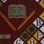 Vlisco B.V.. <em>Wax Print Textile, ABC Pattern</em>, ca. 2018. Cotton, synthetic dye, 36 × 36 in. (91.4 × 91.4 cm). Brooklyn Museum, Gift of Vlisco B.V., 2019.1.2 (Photo: , 2019.1.2_detail03_PS9.jpg)