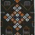 Vlisco B.V.. <em>Wax Print Textile, ABC Pattern</em>, ca. 2018. Cotton, synthetic dye, 36 × 36 in. (91.4 × 91.4 cm). Brooklyn Museum, Gift of Vlisco B.V., 2019.1.3 (Photo: , 2019.1.3_PS9.jpg)