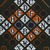 Vlisco B.V.. <em>Wax Print Textile, ABC Pattern</em>, ca. 2018. Cotton, synthetic dye, 36 × 36 in. (91.4 × 91.4 cm). Brooklyn Museum, Gift of Vlisco B.V., 2019.1.3 (Photo: , 2019.1.3_detail01_PS9.jpg)