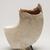 Suzuki Osamu (Japanese, 1926-2001). <em>Vessel</em>, ca. 1960. Glazed porcelain, 6 11/16 × 5 1/2 × 3 9/16 in. (17 × 14 × 9 cm). Brooklyn Museum, Partial gift of Steven Korff and Marcia Van Wagner and Bertram H. Schaffner Asian Art Fund, 2020.1.3 (Photo: Brooklyn Museum, 2020.1.3_right_PS11.jpg)
