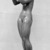 Kai Nielsen (Danish, 1882-1924). <em>Eve and the Apple</em>. Bronze, 69 3/4 x 15 3/4 x 23 in. (177.2 x 40 x 58.4 cm). Brooklyn Museum, Gift of Adolph Lewisohn, 28.17. Creative Commons-BY (Photo: Brooklyn Museum, 28.17_glass_bw.jpg)