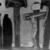 Franz von Stuck (German, 1863-1928). <em>Golgotha</em>, 1917. Oil on canvas, 46 7/8 x 48 1/4 x 3 3/16 in. (119.1 x 122.6 x 8.1 cm). Brooklyn Museum, Gift of Alfred W. Jenkins, 28.420 (Photo: Brooklyn Museum, 28.420_glass_bw.jpg)