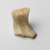 <em>Fragment of Ushabti</em>, ca. 1352-1336 B.C. Egyptian alabaster (calcite), 1 3/4 x 1 3/8 x 1 15/16 in. (4.5 x 3.5 x 5 cm). Brooklyn Museum, Charles Edwin Wilbour Fund, 33.51. Creative Commons-BY (Photo: Brooklyn Museum, 33.51_PS2.jpg)