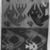 Chimú. <em>Textile Fragment, undetermined</em>, 1000-1532. Cotton, camelid fiber, 17 15/16 in. (45.5 cm). Brooklyn Museum, George C. Brackett Fund, 34.578. Creative Commons-BY (Photo: Brooklyn Museum, 34.578_glass_bw.jpg)
